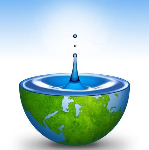 капка чиста вода за планетата